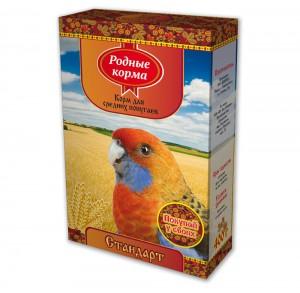 Корм длясредних попугаев