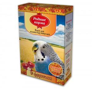 Корм дляволнистых попугаев «с фруктами»