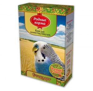 Корм дляволнистых попугаев стандарт