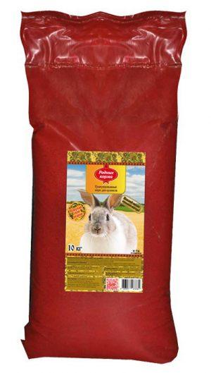 Комбикорм Родные корма длякроликов, 10 кг