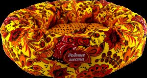 Родные места лежак— «Ватрушка» хохлома