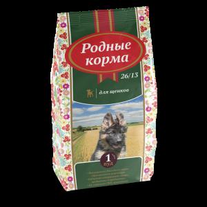 РОДНЫЕ КОРМА сухой корм длященков 26/13, 1 Пуд, (16,38 кг) и5 Русских фунтов (2,045 кг)