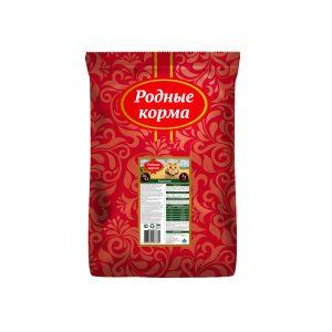 РОДНЫЕ КОРМА сухой корм длявзрослых кошек БАРАШЕК 26/12 3/5 Пуда (10 кг)