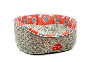 Лежак Родные места «Персиковый кот»