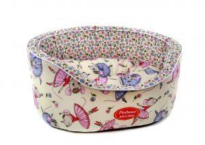 Лежак Родные места «Цветочные мышки»