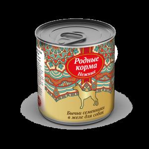 Родные корма «Нежные» длясобак «Бычьи семенники», 240 гр