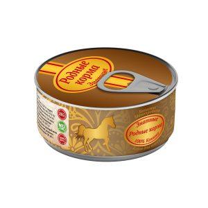 Консервы длякошек «Родные корма знатные скониной» 100 гр