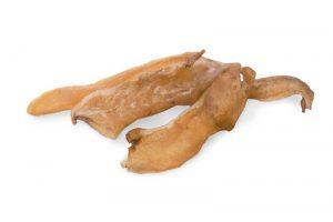 Лакомства РОДНЫЕ КОРМА длясобак мелких пород, кожа говяжья сушеная, вдровяной печи, 35 гр