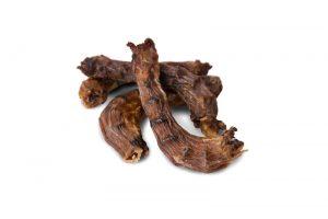 Лакомства РОДНЫЕ КОРМА длясобак, шейки куриные, сушеные вдровяной печи, 35 гр