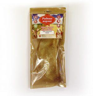 Лакомства РОДНЫЕ КОРМА длясобак мелких пород, хрящ лопаточный говяжий, сушеный вдровяной печи, 35 гр