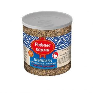 Приправа РОДНЫЕ КОРМА, рубец говяжий, молотый смясом кролика, вбанке, 50 гр