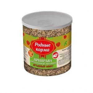 Приправа РОДНЫЕ КОРМА, рубец говяжий, молотый ягодный МИКС, вбанке, 50 гр